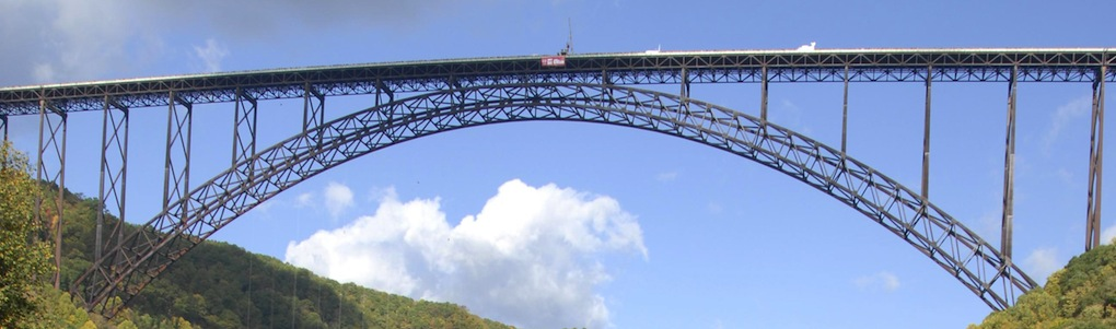 The New River Gorge National Park